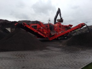 Finlay I 110RS Impact Crusher + Recirculator