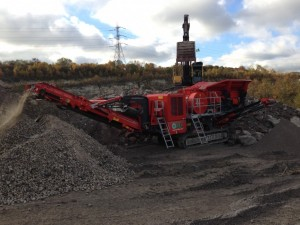 Finlay J1170 Jaw Crusher