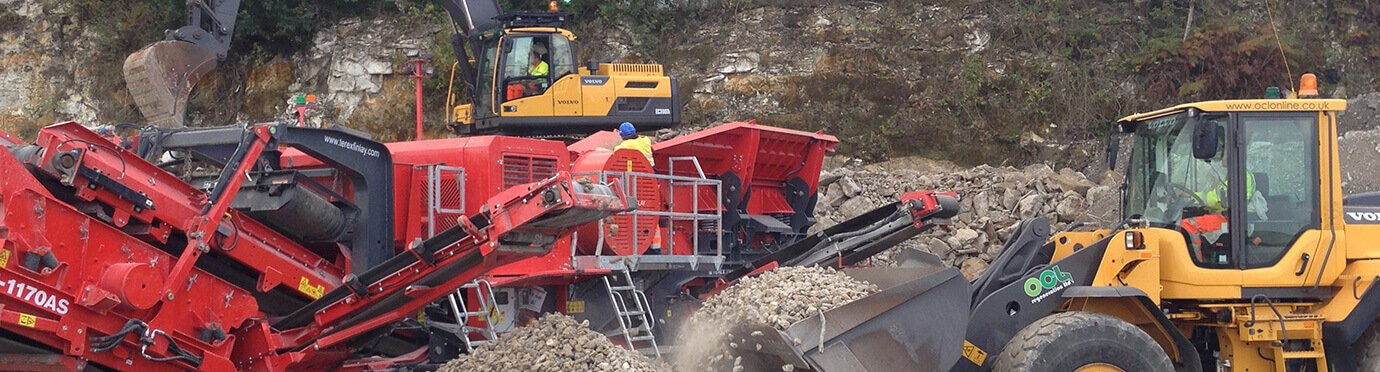 Shovel Exc Jaw Crusher